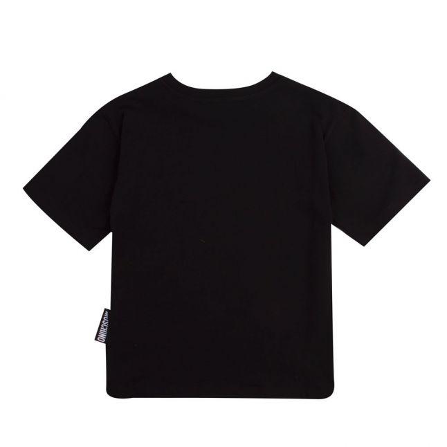 Boys Black Big Toy S/s T Shirt