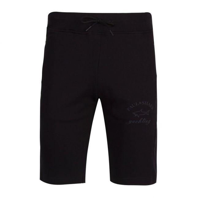 Mens Black Classic Logo Sweat Shorts