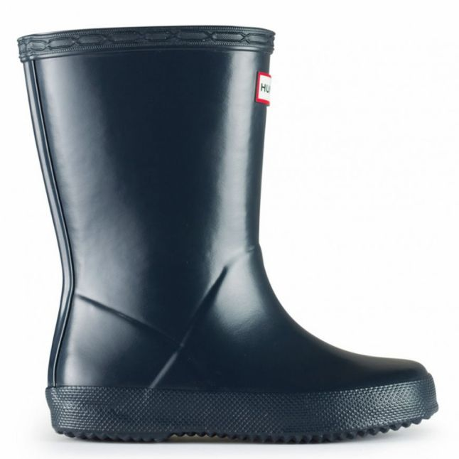Kids Navy First Classic Wellington Boots (4-8)