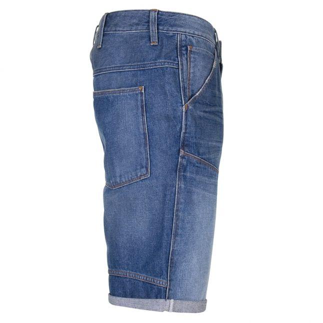 Mens Medium Aged Antic Denim Shorts