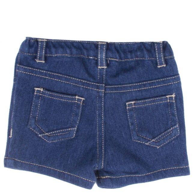 Baby Indigo Soft Denim Shorts
