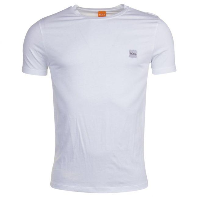 Mens White Tommi UK S/s Tee Shirt