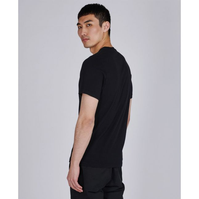 Mens Black Small Block S/s T Shirt