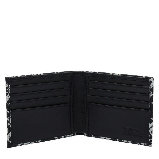 Mens Navy/White Logomania Bifold Wallet