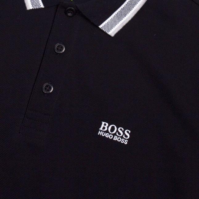 Athleisure Mens Black Paddy S/s Polo Shirt