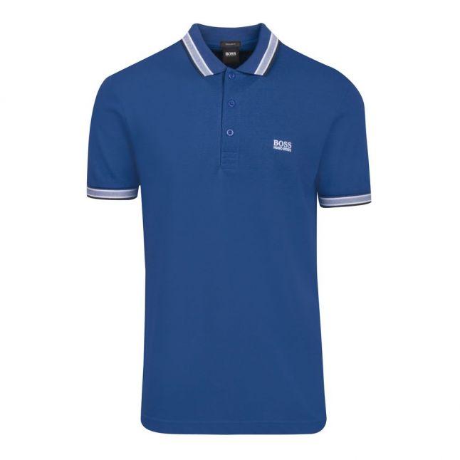 Athleisure Mens Medium Blue Paddy S/s Polo Shirt
