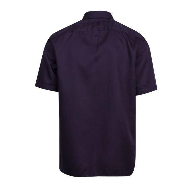 Mens Navy Sinima Colourblock S/s Shirt