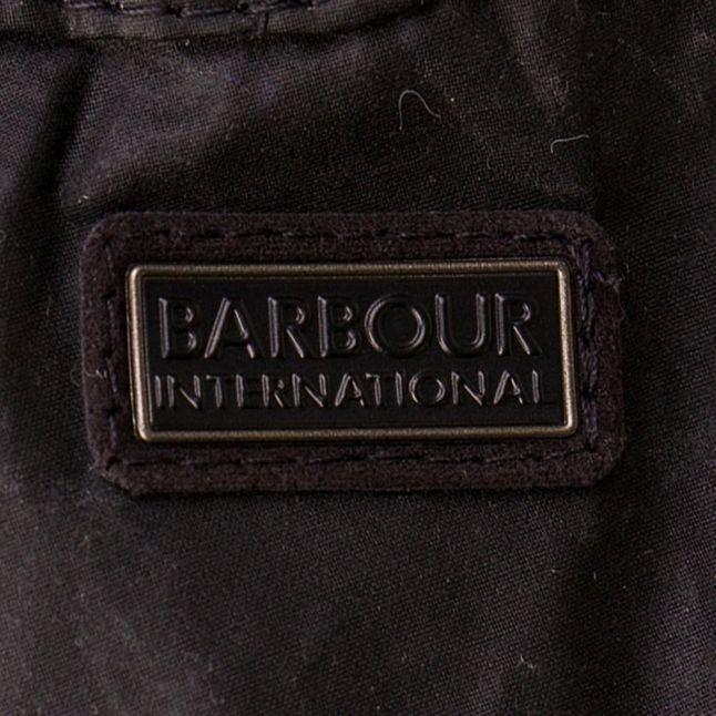 Boys Black Spoke Wax Jacket