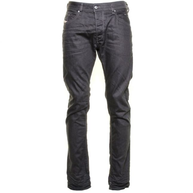 Mens 93r Grey Wash Belther Tapered Fit Jeans
