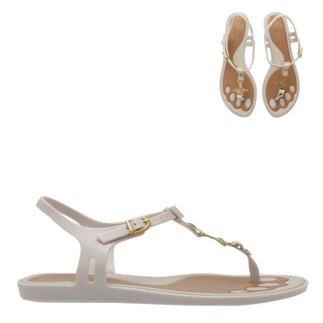 Vivienne Westwood Ivory Solar Orb 21 Sandals