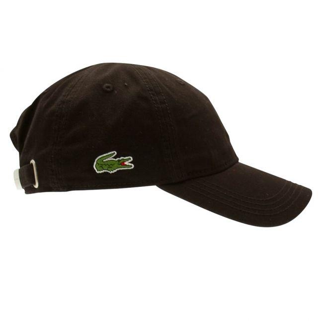 Mens Black Branded Cap