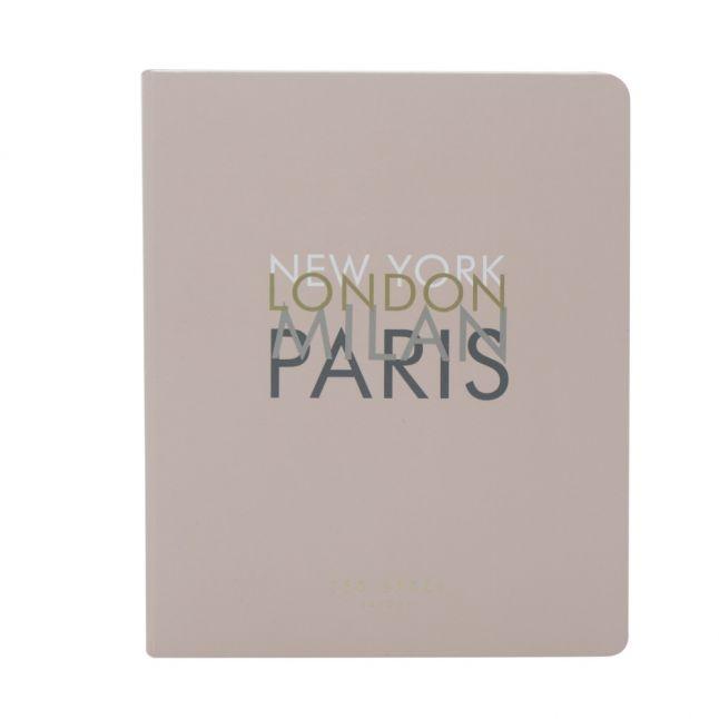 Womens Pink Travel Journal & Planner