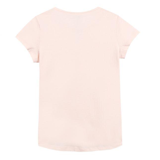 Junior Light Pink Logo S/s T Shirt