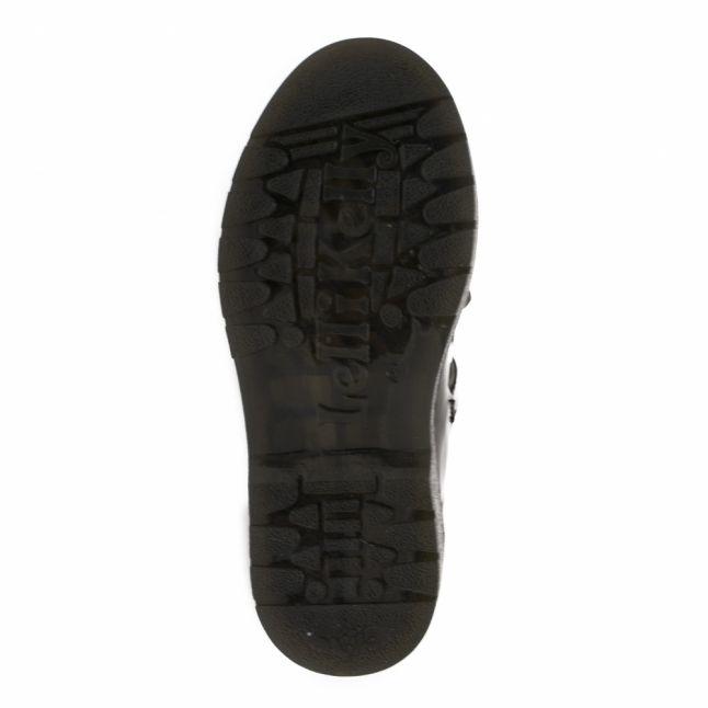 Girls Black Julia T-Bar Bow Shoes (26-35)