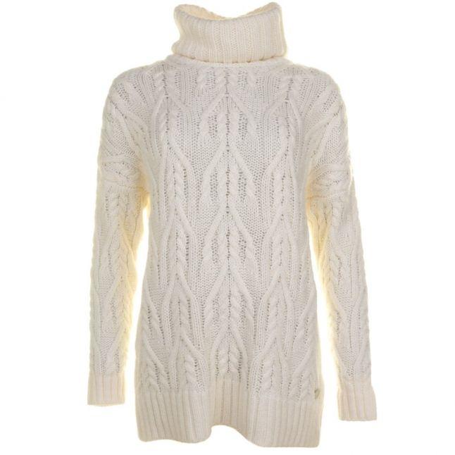 Lifestyle Womens Vanilla Aletesch Knitted Jumper