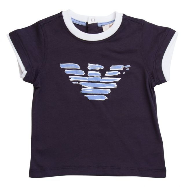 Baby Blue Eagle Logo S/s Tee Shirt
