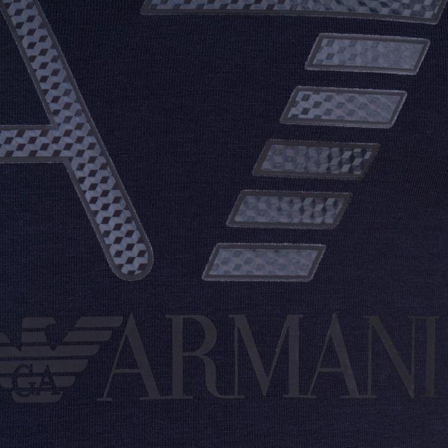 Mens Navy Training Logo Series Crew S/s Tee Shirt