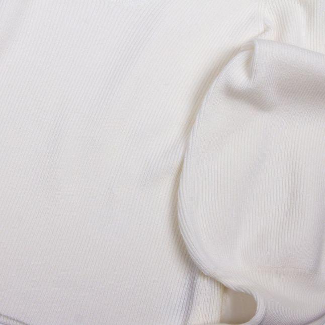 Womens Classic Cream Joss Knits Puff Sleeve Jumper