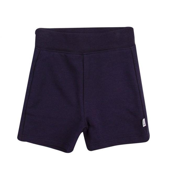Toddler Blue Logo S/s Polo Shirt & Shorts Set