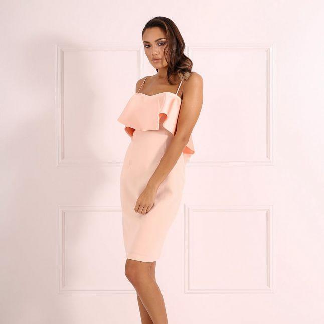 Peach Womens Lori Dress