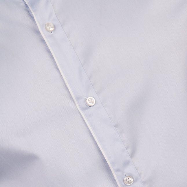 Mens Pastel Blue C-Jimmy Slim Fit L/s Shirt