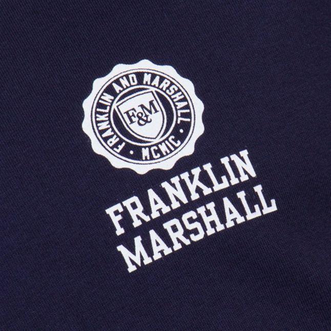 Mens Navy Small Logo S/s Tee Shirt