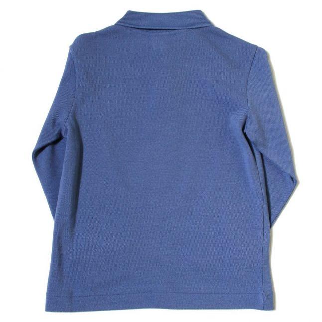 Boys Platoon Blue Classic L/s Polo Shirt