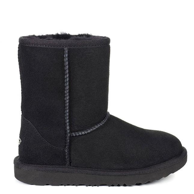 Kids Black Classic II Boots (12-3)