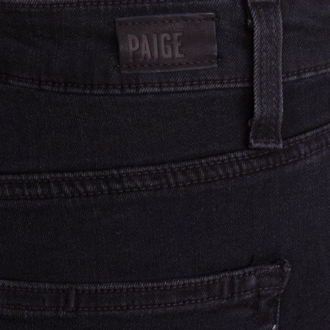 Womens Black Fog Wash Margot Ankle Length Jeans