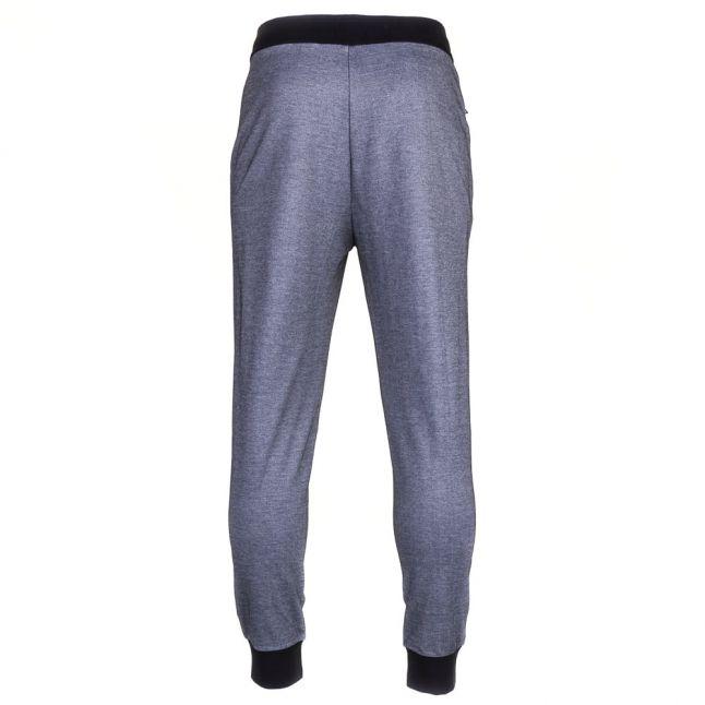 Mens Black Loungewear Cuffed Tracksuit Pants