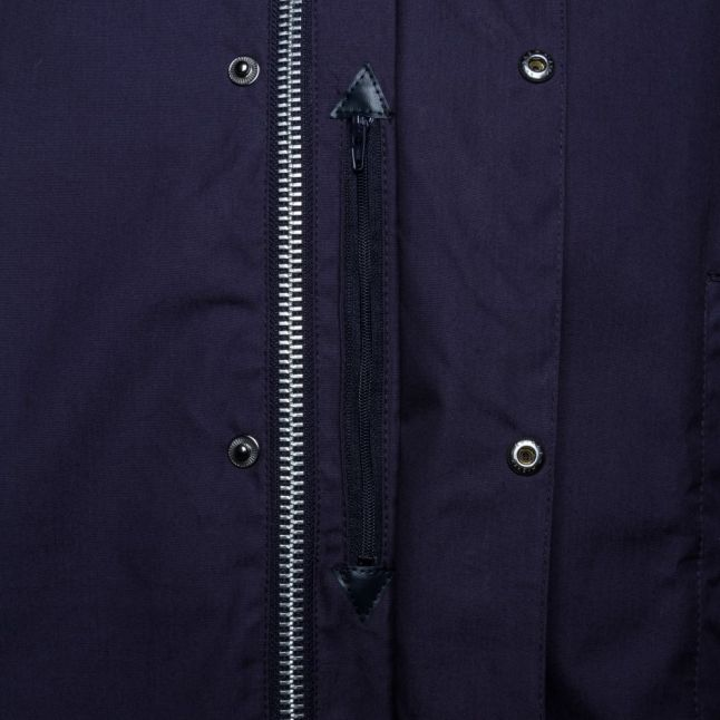 Mens Navy Astern Casual Jacket