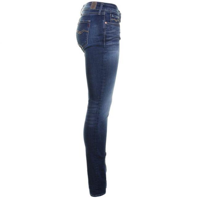 Womens Blue Luz Hyperflex Skinny Fit Jeans