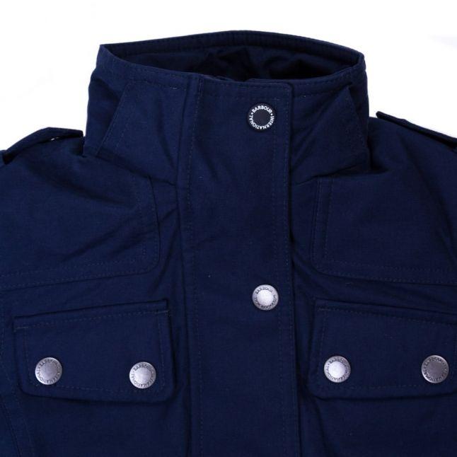 Girls Navy Impeller Jacket