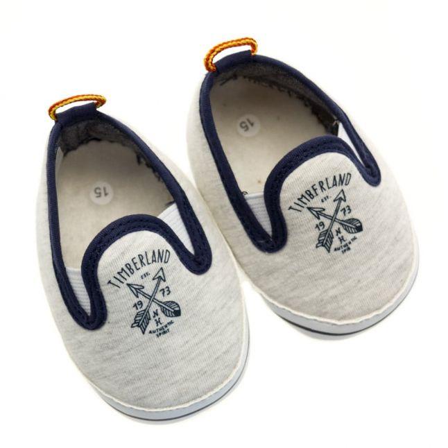 Baby Branded Slip On Pumps
