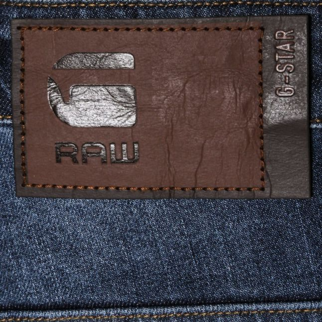 Mens Medium Aged Wash Radar Loose Fit Jeans