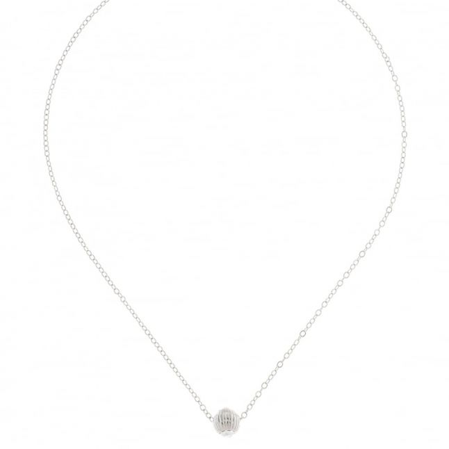 Womens Silver & Crystal Allya Pendant Necklace