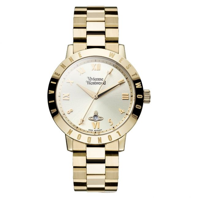 Womens Gold Bloomsbury Bracelet Watch