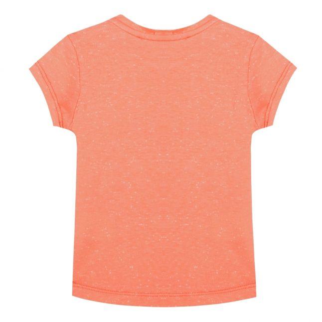 Junior Apricot Flower Tiger S/s T Shirt