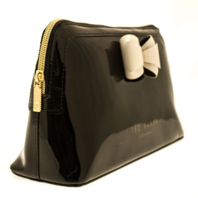 Womens Black Aimee Make Up Bag