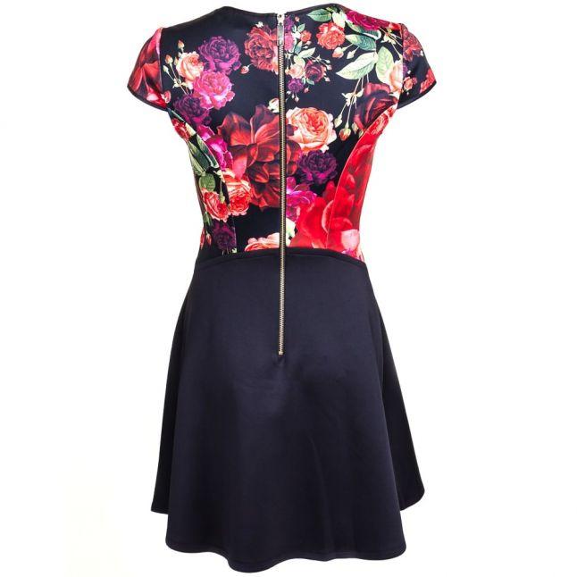 Womens Grape Xylee Juxtapose Rose Skater Dress