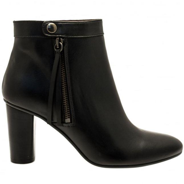 Womens Black Mimi Zip Boots