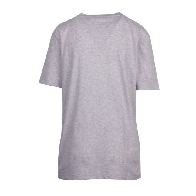 Womens Pale Grey Neon Collegiate S/s T Shirt