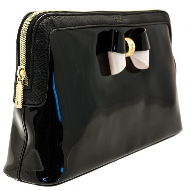 Womens Black Madlynn Large Wash Bag