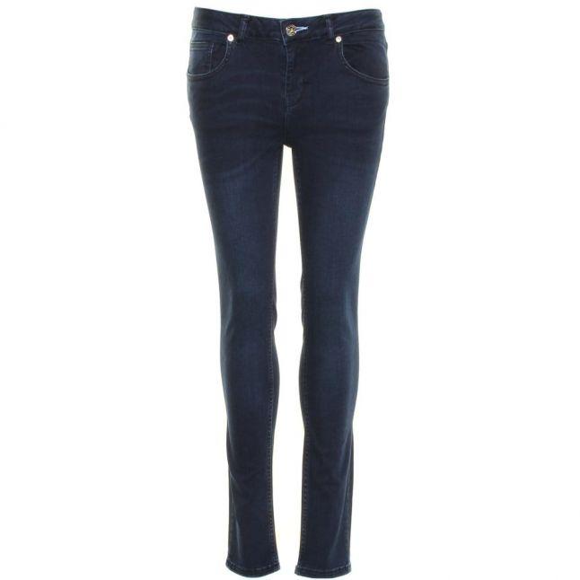 Womens Petrol Wash Petraa Skinny Fit Jeans