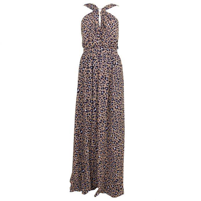 Womens Khaki Lenus Maxi Dress
