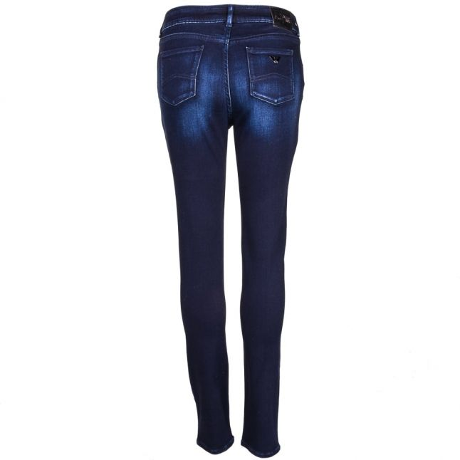 Womens Blue Wash J20 Skinny Fit Jeans