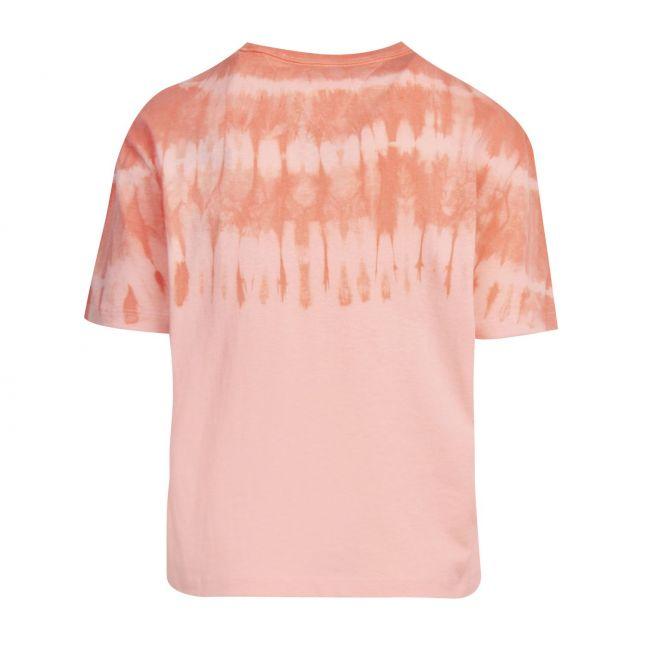 Womens Sweet Peach Summer Tie Dye S/s T Shirt