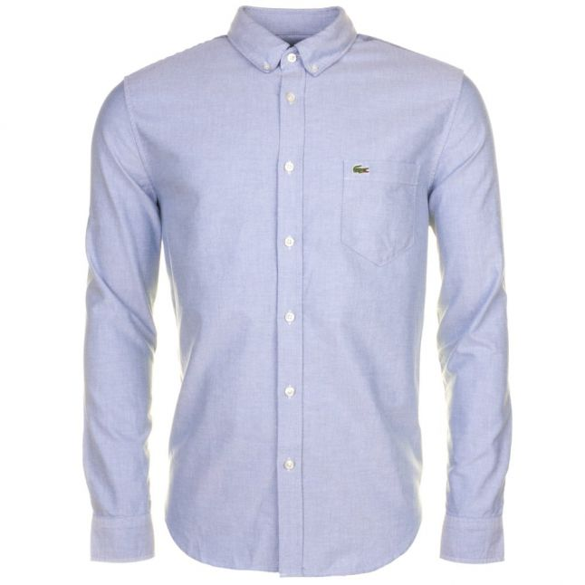 Mens Blue Oxford L/s Shirt