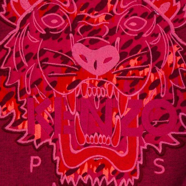 Girls Pink Arine 1 Tiger Sweat Top