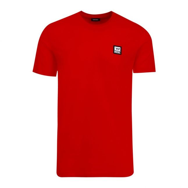 Mens Racing Red T-Diegos-K30 S/s T Shirt